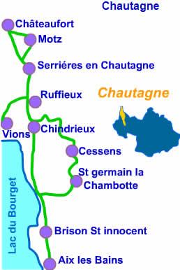 chautagne - A.O.C. : Vin de Savoie